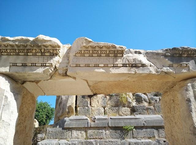 Rock Tombs in Myra