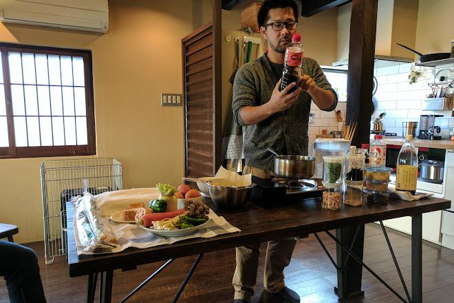 Haru Cooking Class, Kita, Japan
