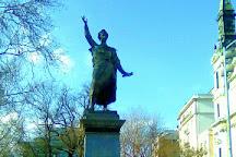Sandor Petofi Statue, Budapest, Hungary