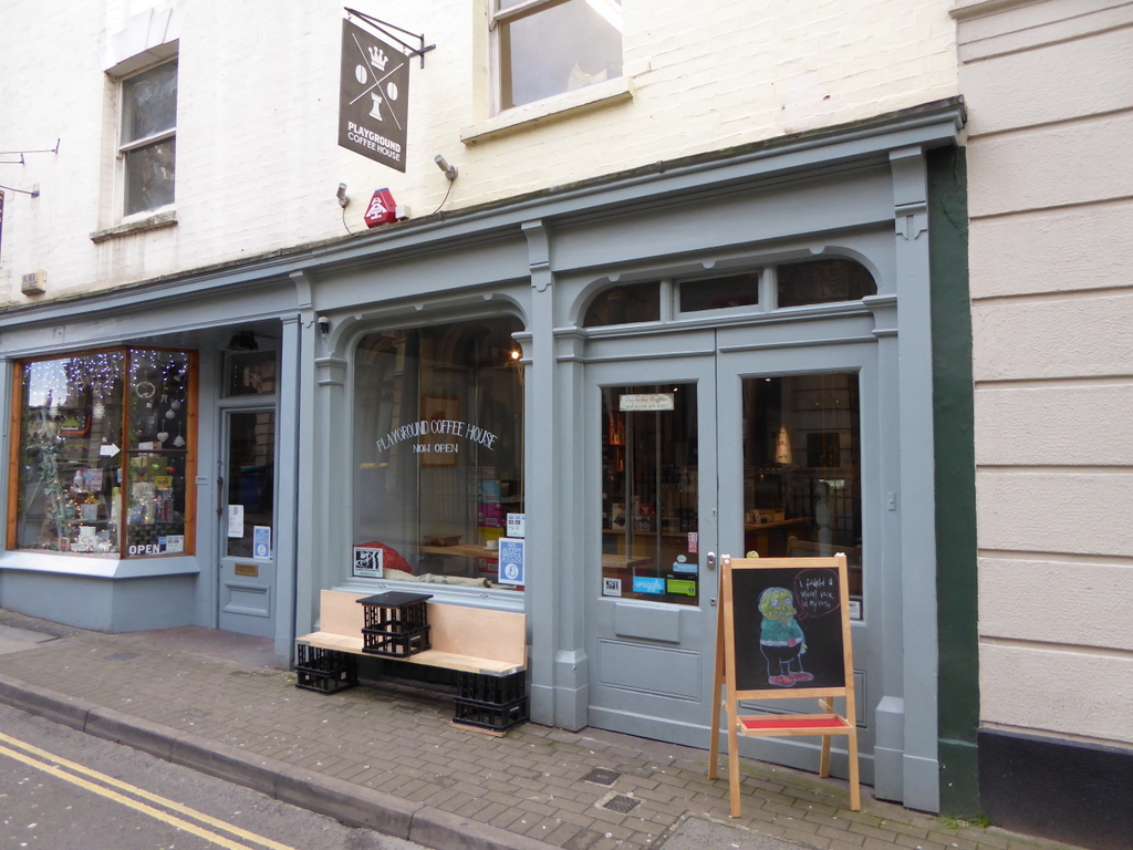 Playground Coffee House: A Work-Friendly Place in Bristol