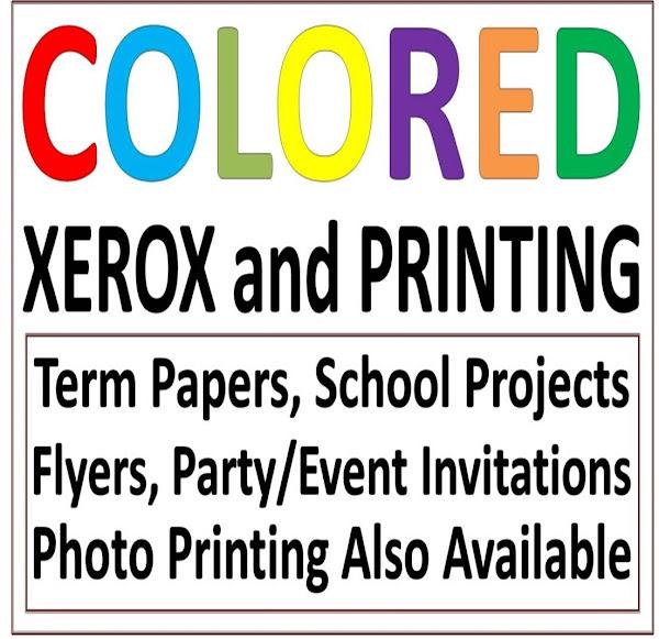 Print Scan Xerox Photo Reprinting Tube Ice