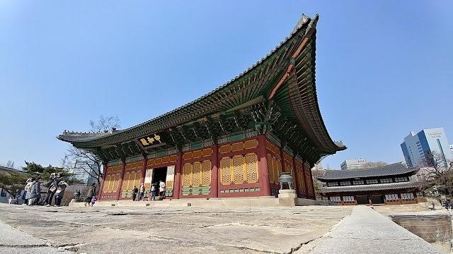 Deoksugung junghwajeon and neutralize statement Treasure No. 819
