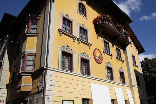Landschaftlichen Pfarre Maria Hilf, Innsbruck, Austria