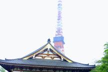Zojo-ji Temple, Shibakoen, Japan