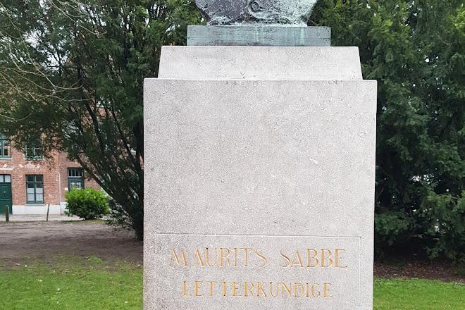 Maurits Sabbe Monument, Bruges, Belgium