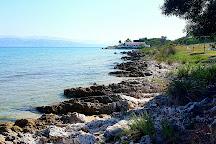 St. Spyridon First Beach, Agios Spyridonas, Greece