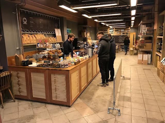 Doppio Coffee Warehouse Ealing