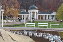 Zpivajici fontana, Marianske Lazne, Czech Republic