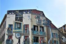 Les Murs Peints, Cannes, France