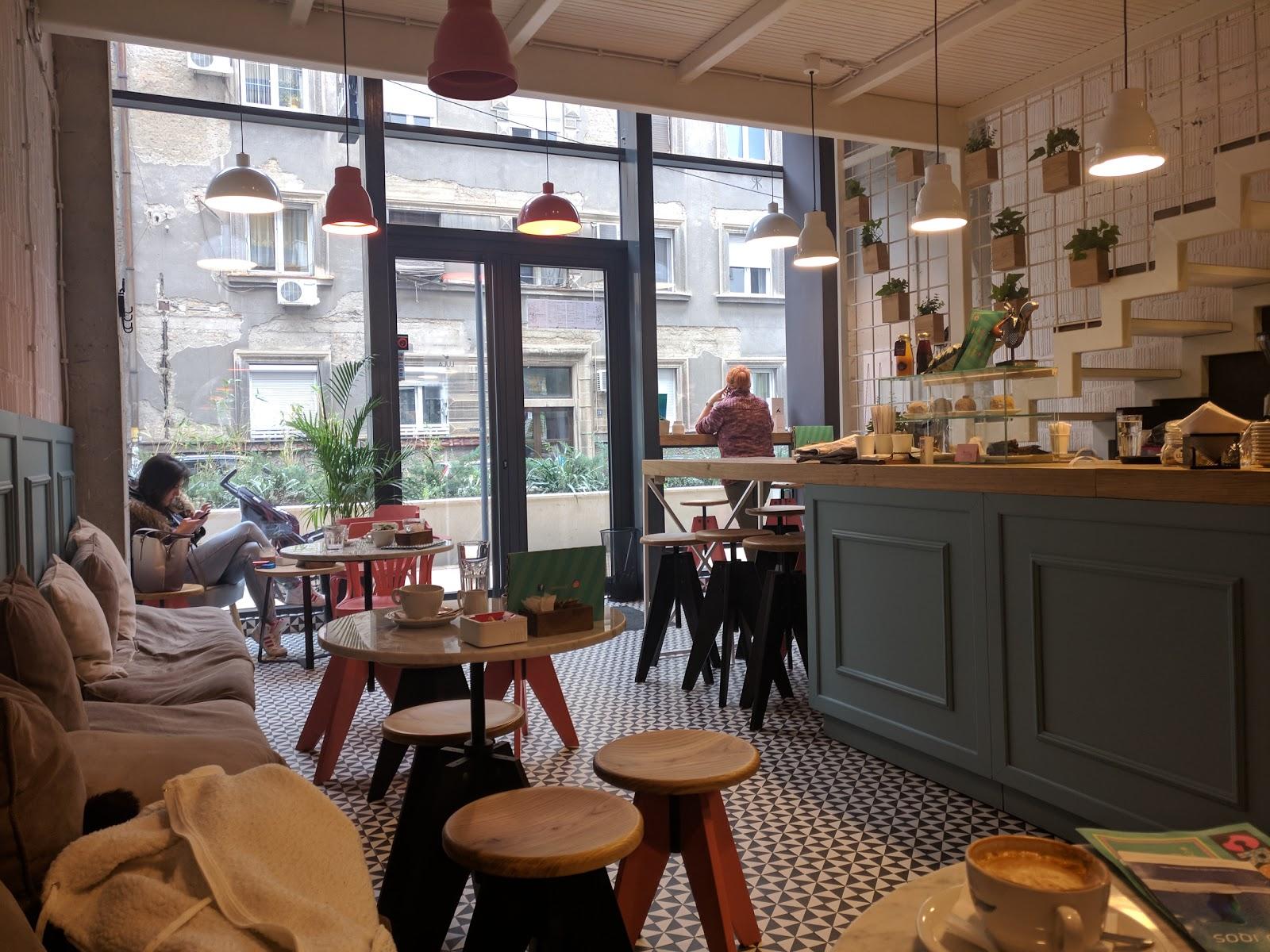 Lula fine espresso bar: A Work-Friendly Place in Belgrade