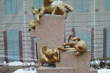 Skver Sibirskikh Koshek, Tyumen, Russia