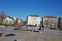 Eagles' Bridge (Orlov Most), Sofia, Bulgaria