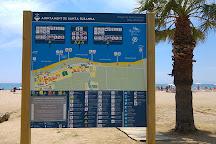 Playa de Llevant, Barcelona, Spain