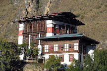 Tachogang Lhakhang Bridge, Paro, Bhutan