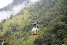 Puntzan Canopy, Banos, Ecuador