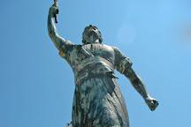 Statue of Georgios Anemogiannis, Gaios, Greece