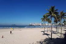 Pereque beach, Guaruja, Brazil