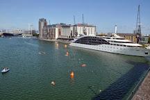 Royal Victoria Dock and Bridge, London, United Kingdom