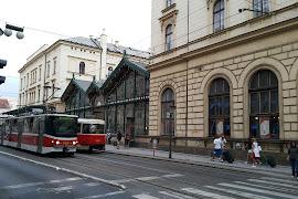 Станция  Praha Masarykovo Nadrazi