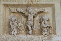 Eglise abbatiale Saint Michel et son cloitre, Saint Genis des Fontaines, France