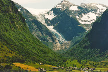 Bondhusbreen Gletscher, Rosendal, Norway