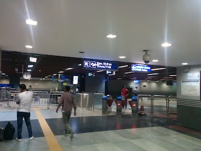 Jangpura Metro Rail Station