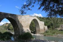Puente Romanico de Capella, Capella, Spain