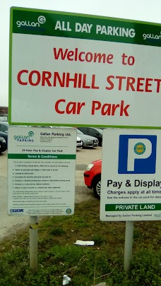 Cornhill Street Car Park