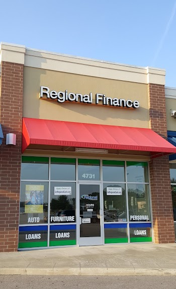 Regional Finance Payday Loans Picture
