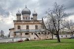 Знаменский собор, улица Красилова, дом 42 на фото Великого Новгорода