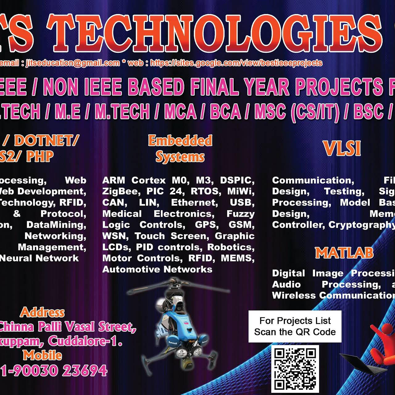 Jits Technologies Education Center In Manjakuppam