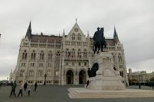 Statue of Gyula Andrassy, Budapest, Hungary