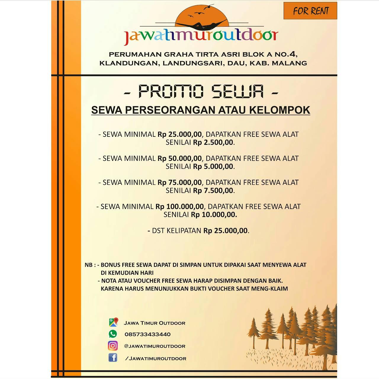 Jawa Timur Outdoor Jual Perlengkapan Camping Sewa Rental Alat Kemah Camping Outdoor Di Malang Toko Alat Alat Perkemahan