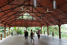 OM at Cashew Hill Yoga Retreat and Training Center, Puerto Viejo de Talamanca, Costa Rica