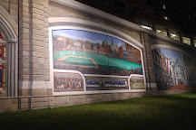 Roebling Murals on the Floodwalls of Covington, KY, Covington, United States