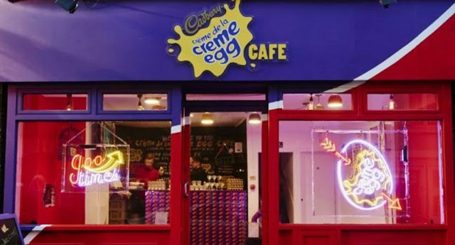 Creme Egg Cafe