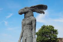 Skulptur i Pilane, Kloevedal, Sweden