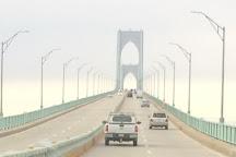 Claiborne Pell Newport Bridge, Jamestown, United States