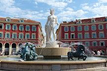 Fontaine du Soleil, Nice, France