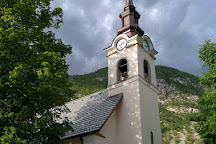 Church of St. Joseph, Soča, Slovenia