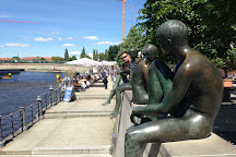 Three Girls and a Boy, Berlin, Germany