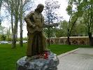 Памятник В. С. Высоцкому, площадь В. И. Ленина на фото Волжского