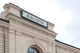 Железнодорожная станция  Bialystok