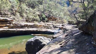 Mermaids Pool and Tahmoor Gorge Parking