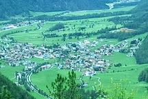 Stuibenfall, Umhausen, Austria