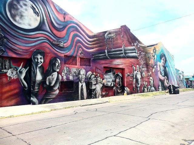 "Mural ""El regreso de Quinquela"""
