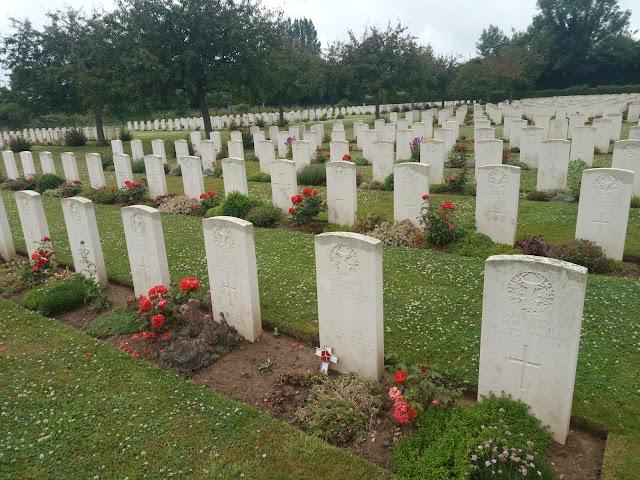 Commonwealth War Cemetary Lisieux