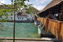 Spreuer Bridge, Lucerne, Switzerland