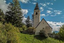 Kirche San Guerg Lavin, Lavin, Switzerland