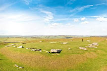 Arbor Low Stone Circle and Gib Hill Barrow, Bakewell, United Kingdom